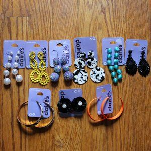 Bundle of Claire's Earrings